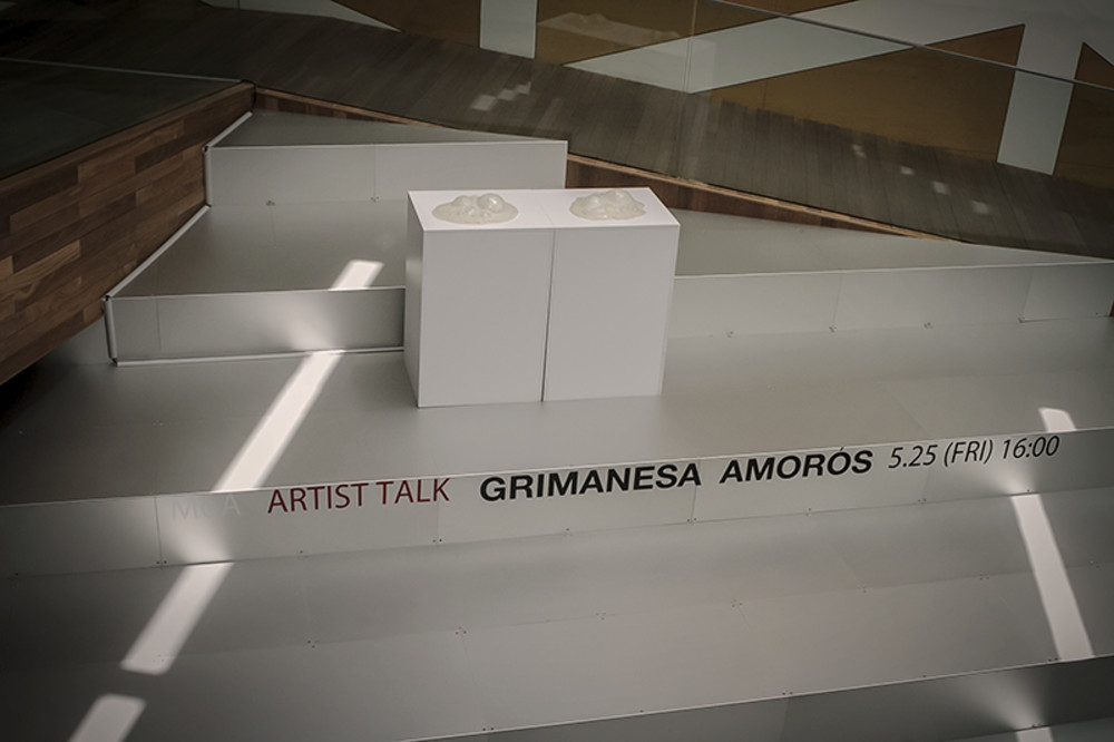 grimanesa amoros light sculpture video lighting installation