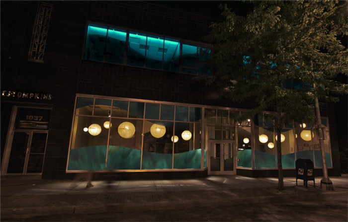 grimanesa amoros substancial lighting installation
