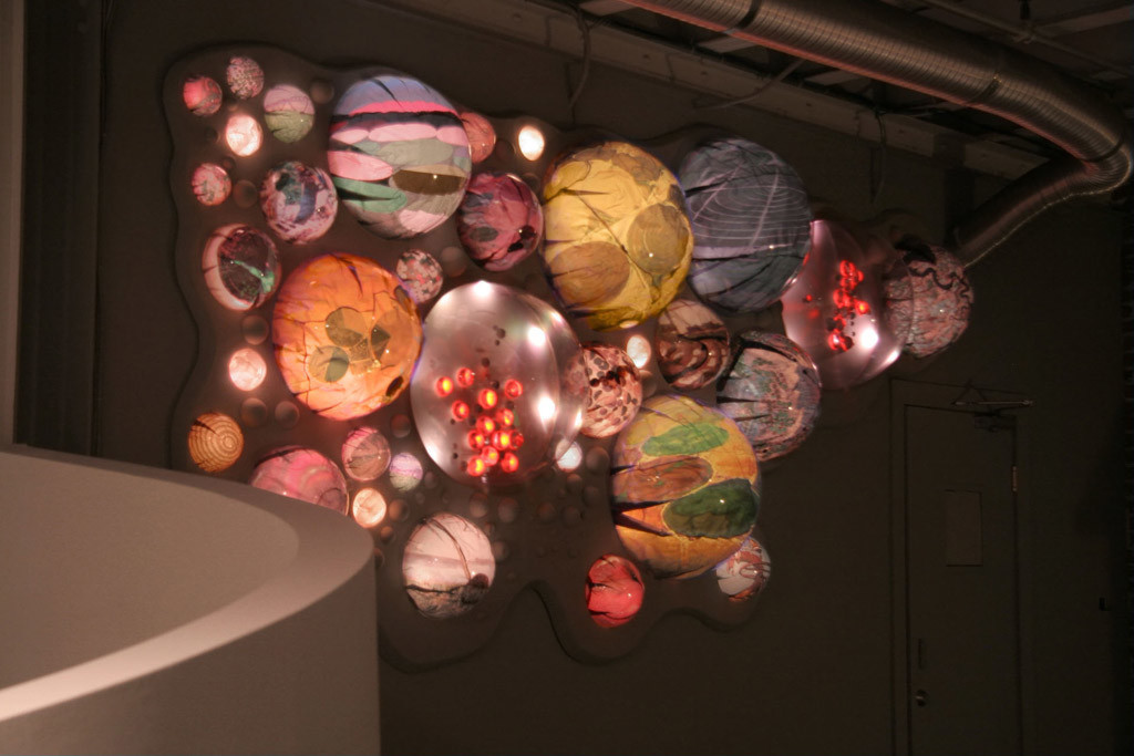 grimanesa amoros terraforms lighting installation