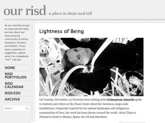 grimanesa amoros Our RISD Lightness of Being