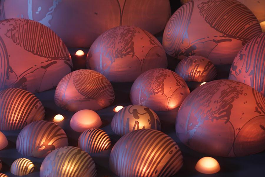 grimanesa amoros uros island lighting installation