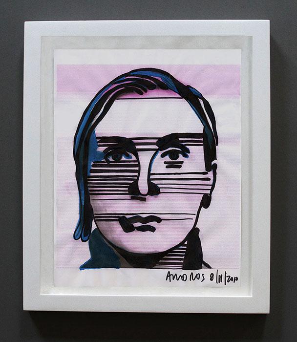 grimanesa amoros self portraits drawings