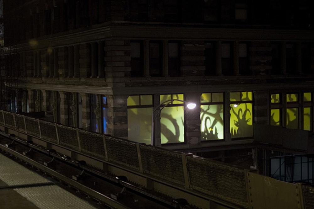 grimanesa amoros frente feroz lighting installation