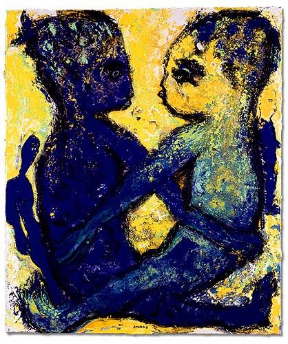 grimanesa amoros amoros' voyage paintings