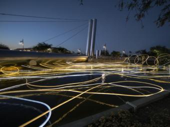 grimanesa amoros Paolo Soleri Bridge Scottsdale Canal