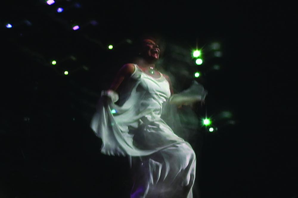 Grimanesa Amoros La Conxion Perfecta Susana Baca Video Installation