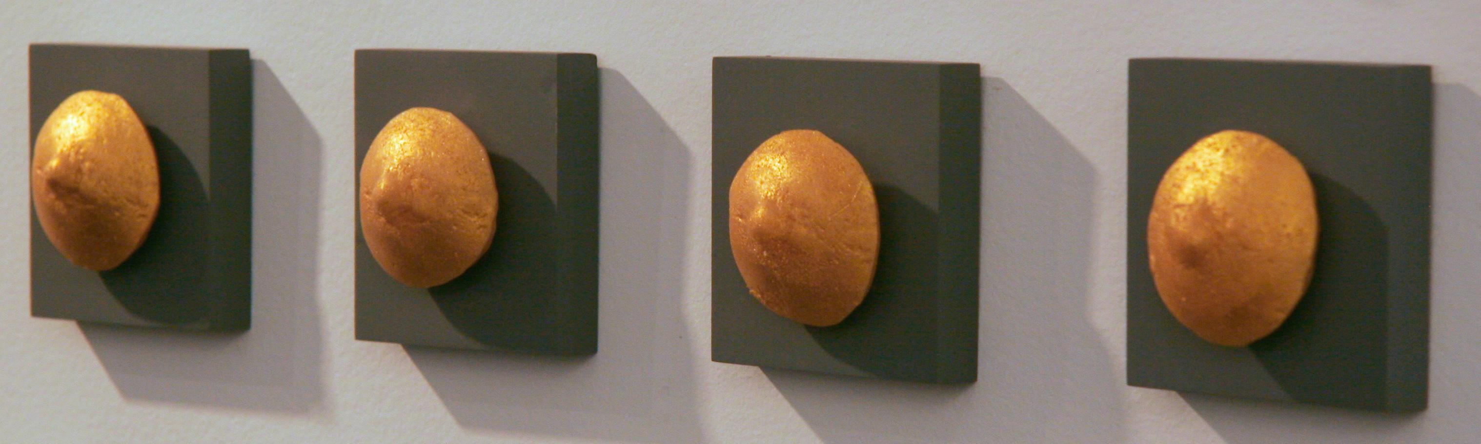 Grimanesa Amoros Multi-media sculpture Golden Nipples