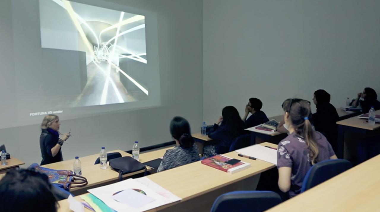 grimanesa amoros lecture American University Dubai