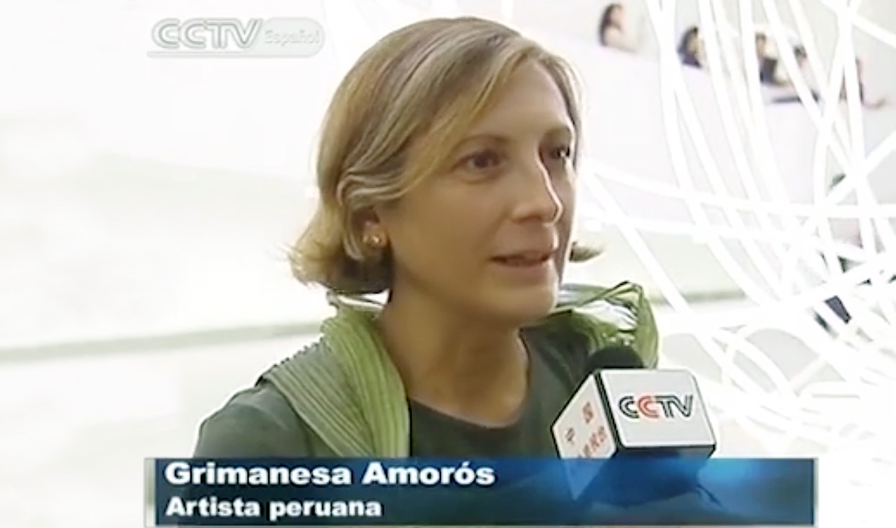grimanesa amoros interview CCTV-E