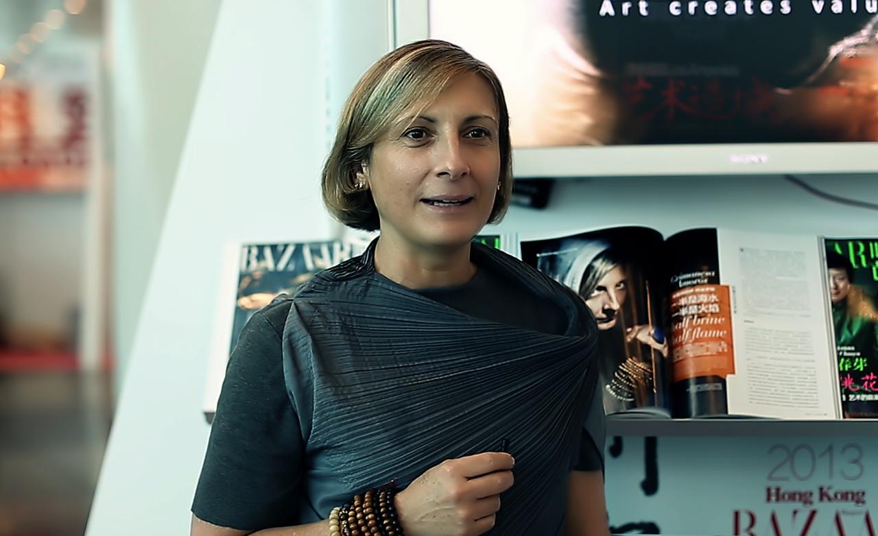 grimanesa amoros interview Bazaar Art | Art Basel HK