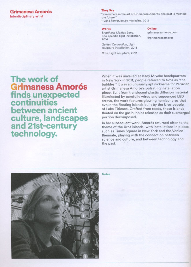 Grimanesa Amoros TED Global Magazine