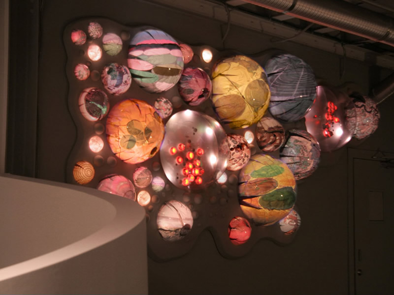 grimanesa amoros light sculpture installation terraforms The Lab Advertising Agency