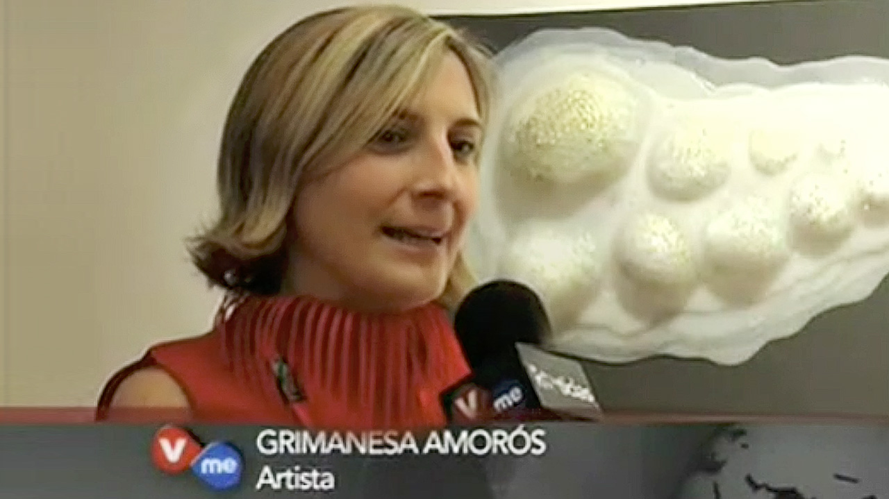 grimanesa amoros interview V-me TV