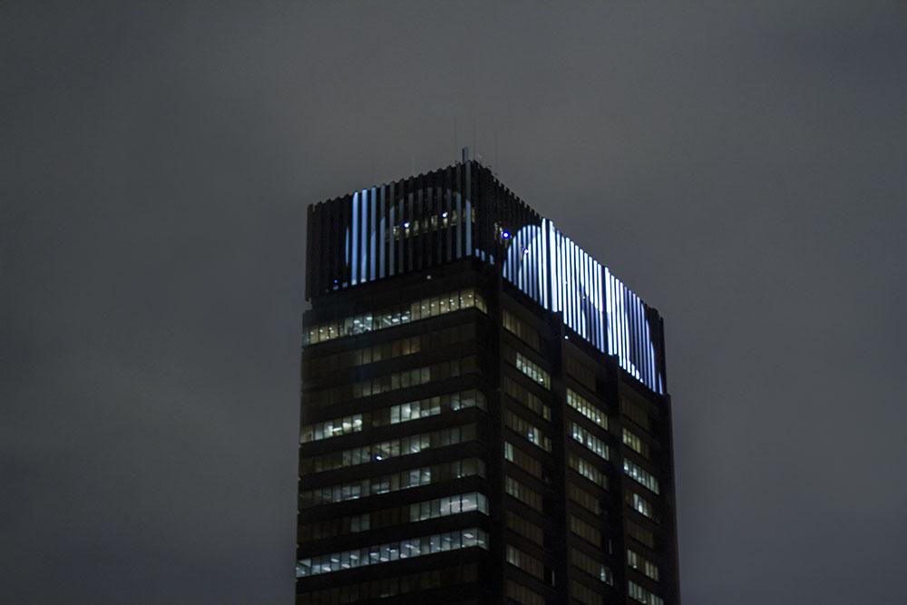 PECO Crown Lights Building Uvasis