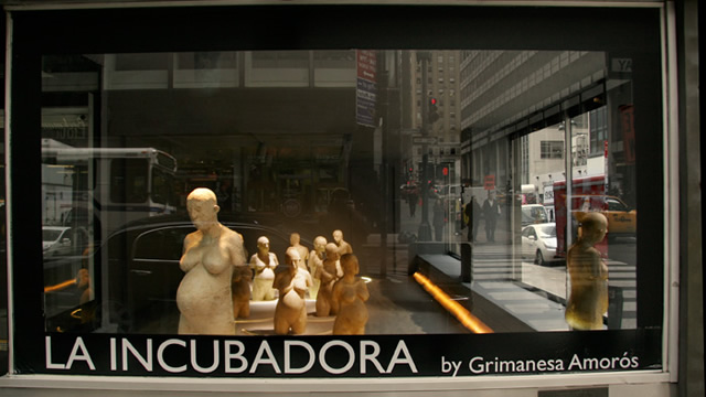 The Roger Smith Lab Gallery LA INCUBADORA Multimedia Installation Grimanesa Amoros