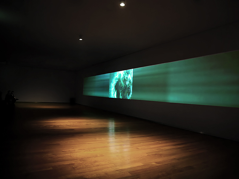 Grimanesa amoros Yuan Museum Multi-Channel Video Exhibition VOYAGER VIDEO RETROSPECTIVE China