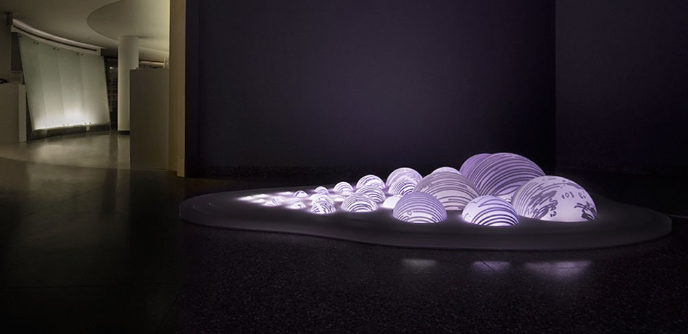 grimanesa amoros rutgers light sculpture installation uros island banner