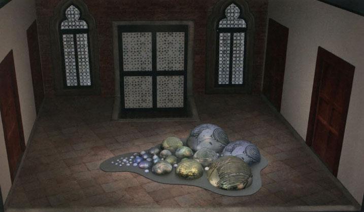 uros island 3D render FUTURE PASS - Wereldmuseum