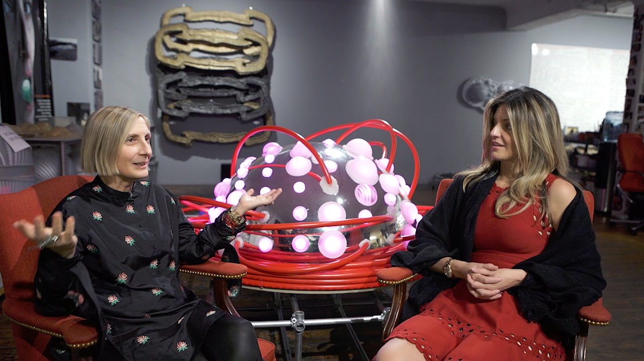 Euronews Luxury Living Interview with Grimanesa amoros