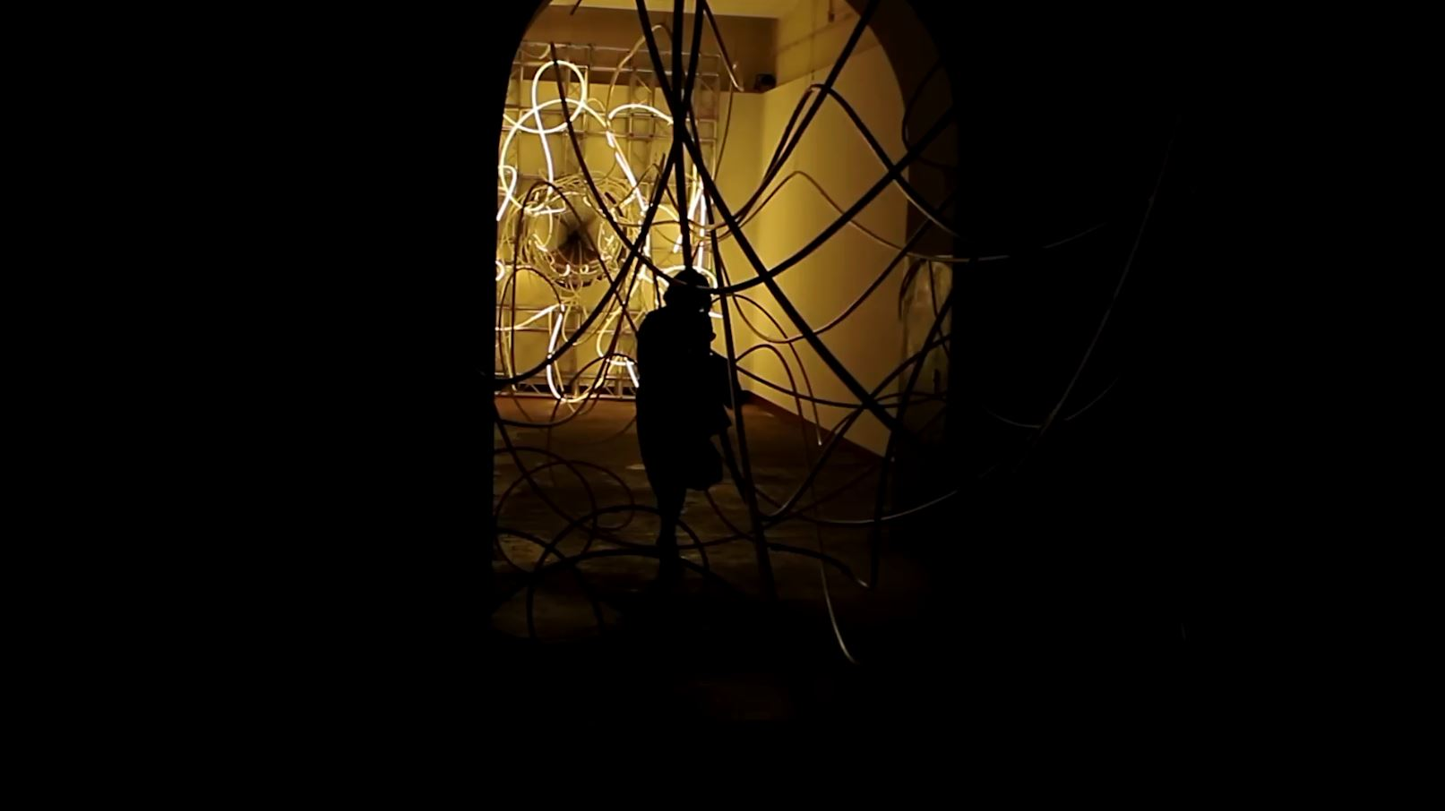 Grimanesa Amoros Fortuna light sculpture installation