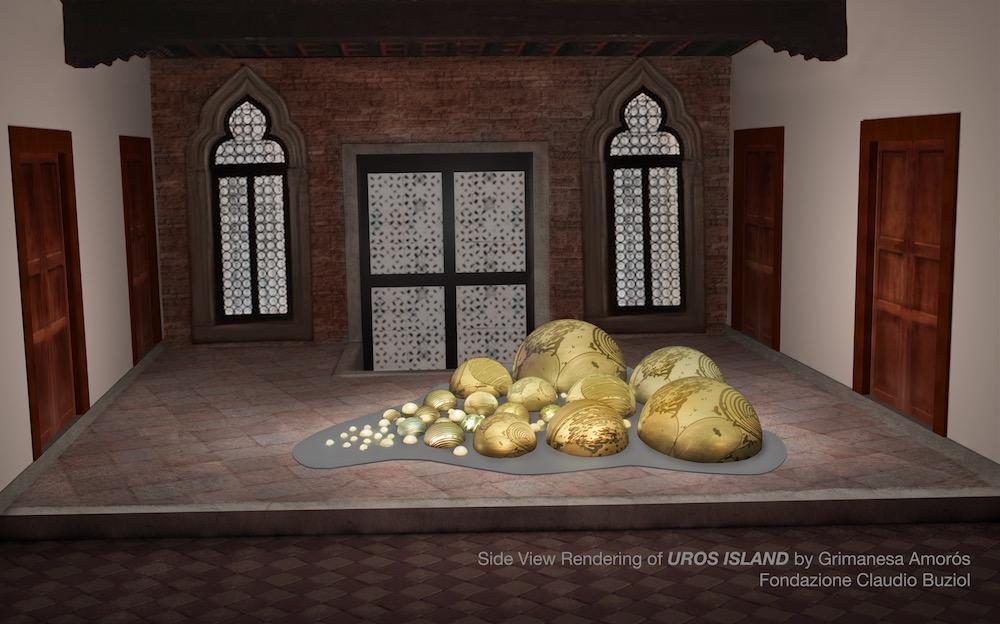 Grimanesa Amoros UrosIsland 54th Venice Biennial 3D Render