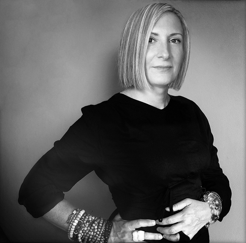 Grimanesa Amoros Lifetime achievement Award black and white photograph