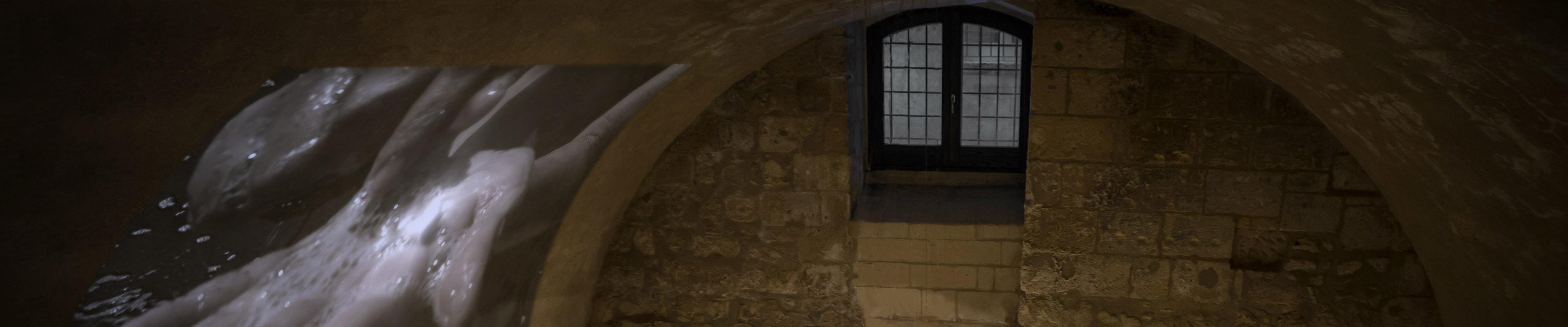 Palazzo Castromediano Vernazza video exhibition banner grimanesa amoros