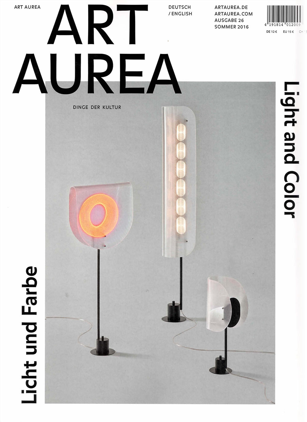Art Aurea Summer 2016 Magazine
