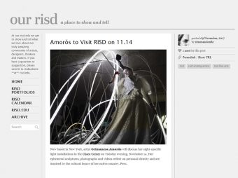 grimanesa amoros Our RISD