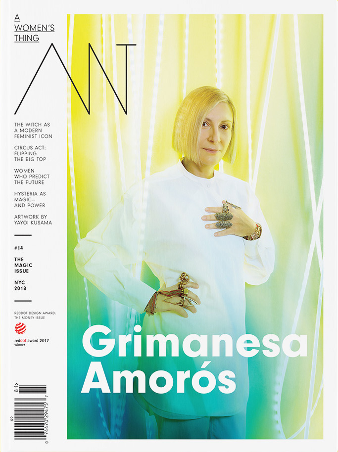 grimanesa amoros on the cover of a women's thing magazine