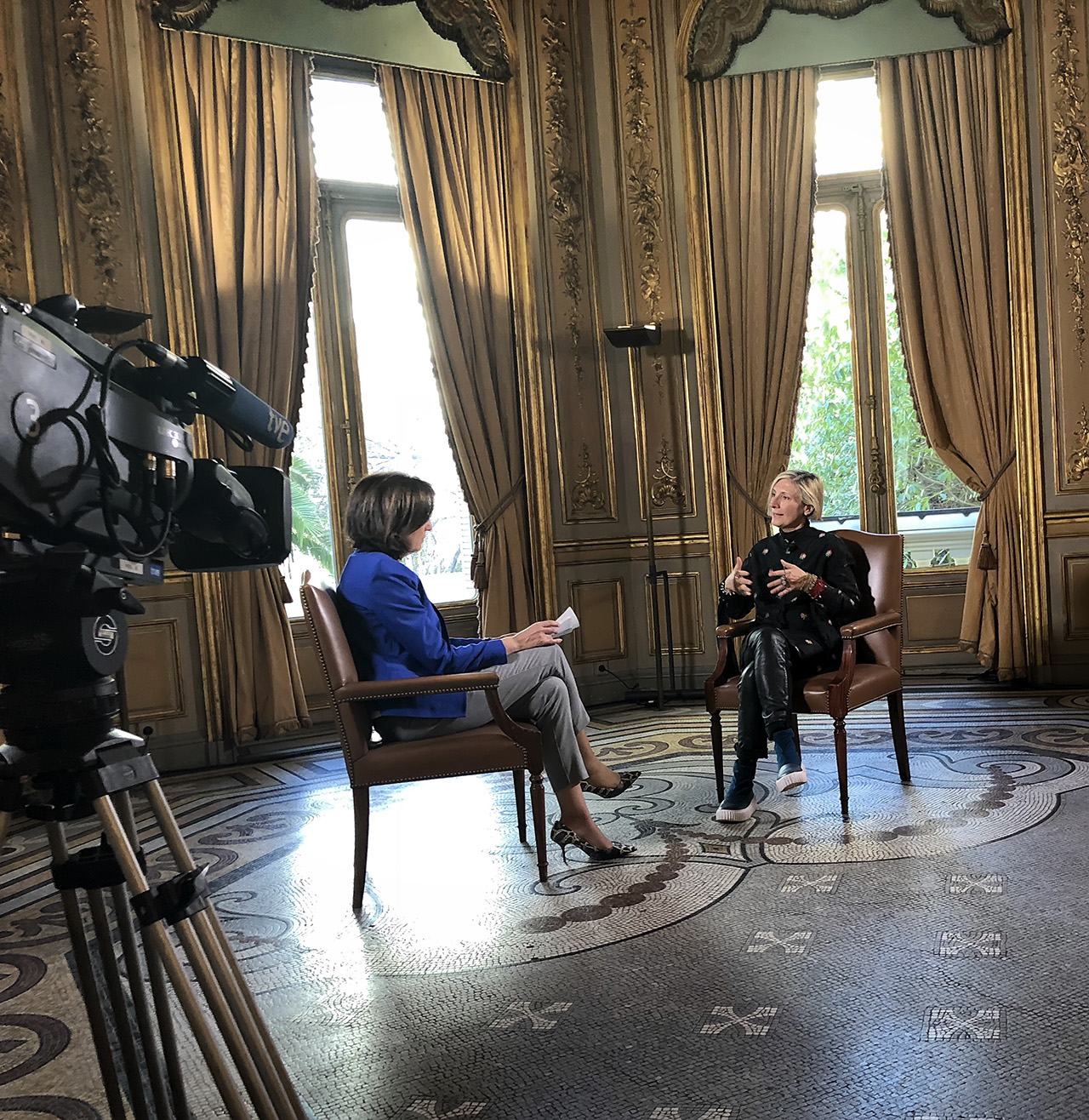 grimanesa amoros interview by Isabel de Haro on RTVE