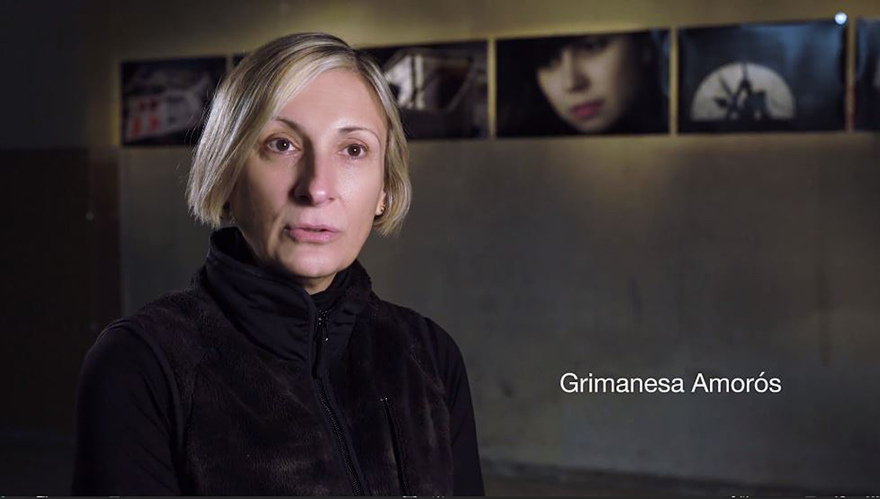 grimanesa Amoros tabacalera ocupante 2018 madrid spain