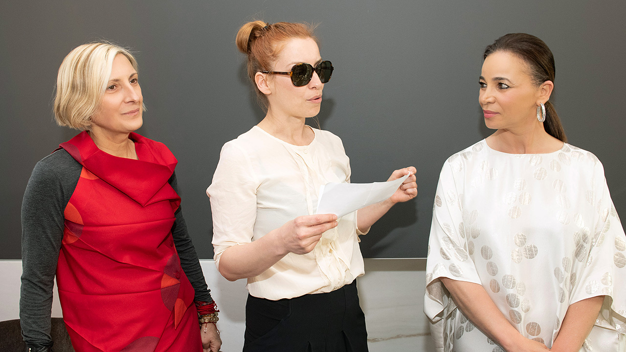grimanesa amoros at the ocupante book signing with fiona cibani and saskia ketz