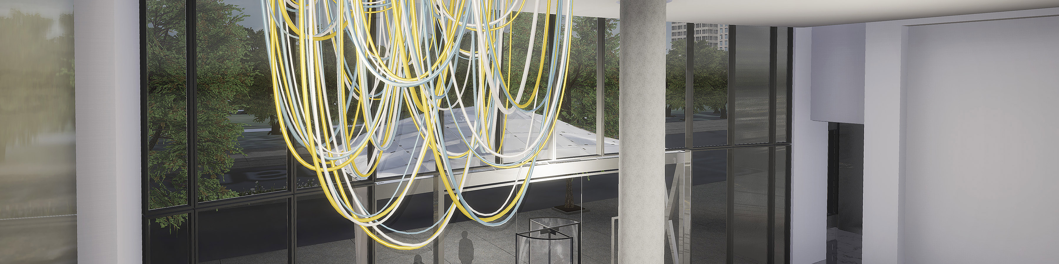 Grimanesa Amoros LUCENT 3D Render for the 1000m building in chicago