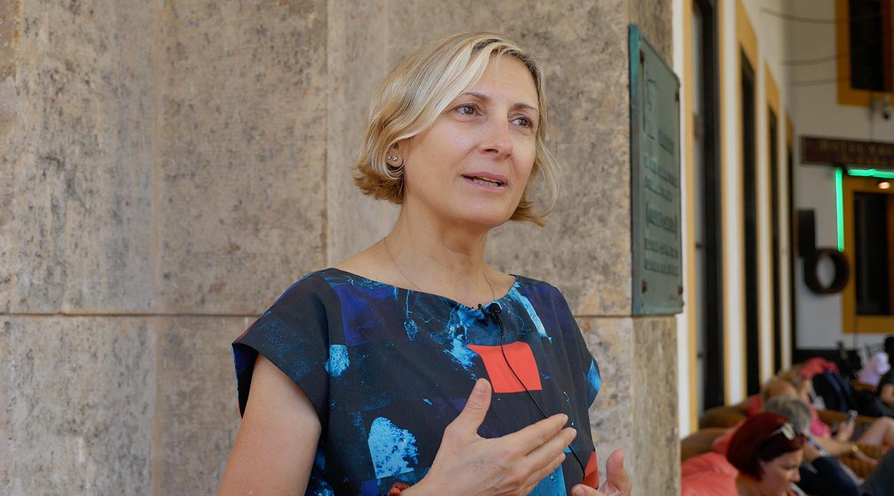 grimanesa amoros interview of Radio Havana Cuba