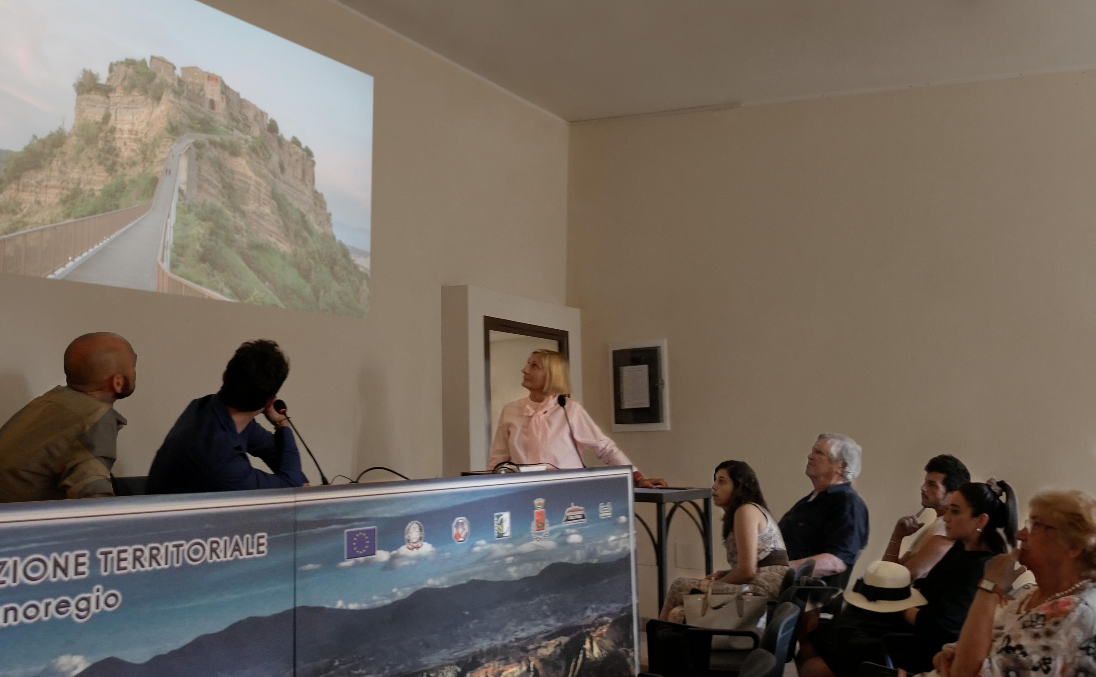 grimanesa amoros museo geologico e delle Frane artist talk