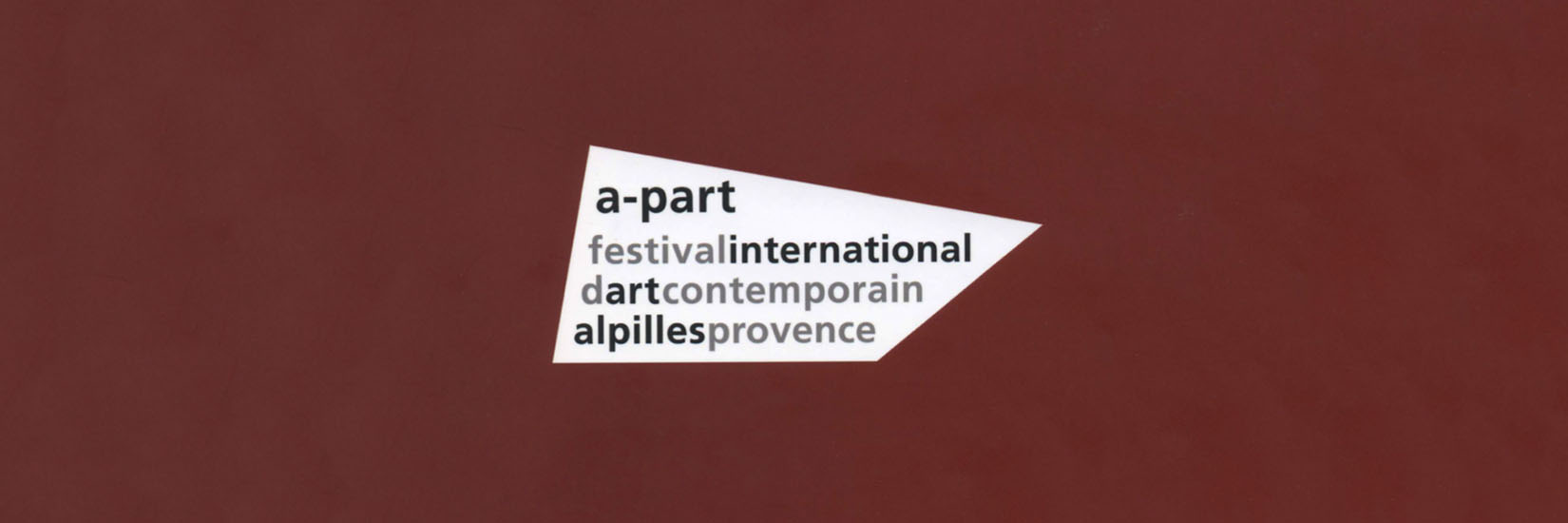 apart festival catalog edition 2015 to 2019 banner