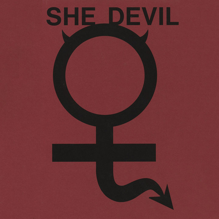 She Devil catalogue cover