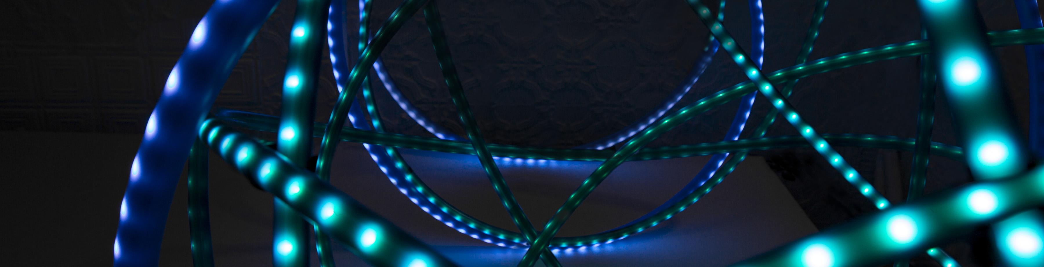 grimanesa Amoros azulin 2 light sculpture