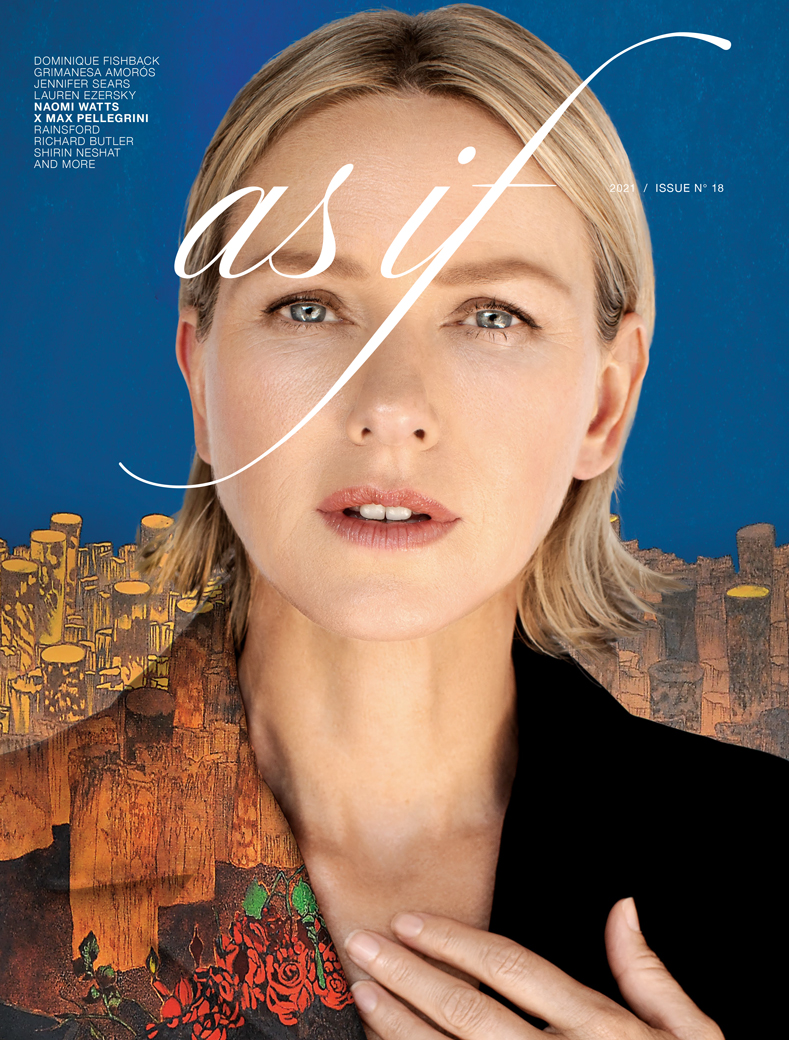 As If Magazine Issue 18 Cover