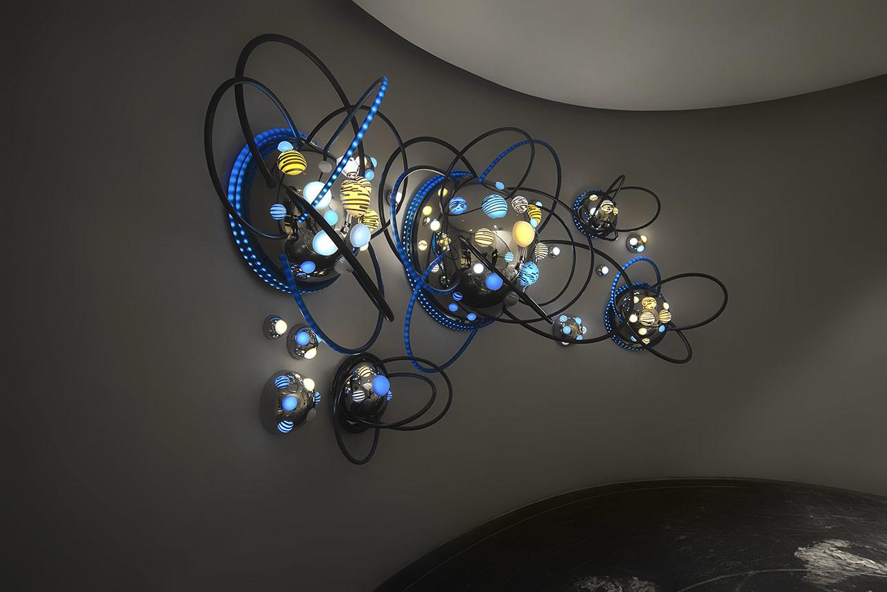 grimanesa amoros UES New York Azure light artwork