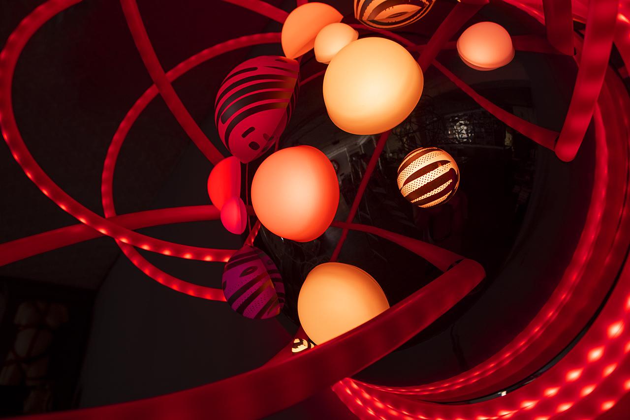 grimanesa amoros light sculpture Lotus 3